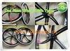 Roues de bicyclette/roues d'une seule pièce/roue avant et roue arrière avec des pneus