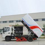 Тип питания дизельного двигателя Euro 4 грузового прицепа швабра дорожного движения
