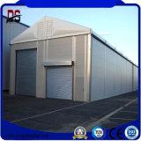 Construção clara edifício personalizado da construção de aço para a garagem