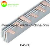 O Pin datilografa a 1p a barra de cobre 80A passada certificado do Ce