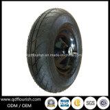 Pneumático de borracha da roda pneumática do Wheelbarrow para carros do vagão
