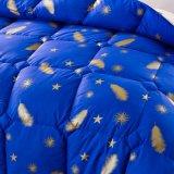 China Fornecedor Hotel Feather Consolador alternativas colcha de algodão Edredon de penas de pato
