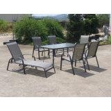 Essen im Freien Garten-Freizeitmöbel mit 6 Stühlen (FS-1101 + FS-5112)