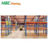 Для тяжелого режима работы склада для хранения Longspan металлический поддон стеллаж