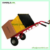 Het Karretje van de Logistiek van het Karretje van het Huishouden van het Staal van de Trekkracht van de hand