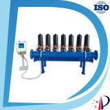 Bewässerung-automatische Wellengang-Kassetten-Wasser-Filter für Wasser-Vorbehandlung