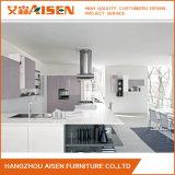 2018 estándar de alta calidad lacado blanco puertas de armario de cocina