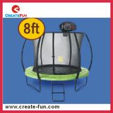 Vervaardiging 8ft van de Fabriek van Createfun de Openlucht Grote Trampoline van Jonge geitjes met Bijlage