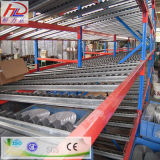 Personalizar el flujo de caja de acero de almacén de estanterías de palet