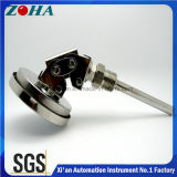 Termómetro de resistência bimetálica tipo universal que pode utilizar e inferior de volta usando