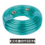 Plastique PVC flexible hydraulique de l'eau jardin Durit du tuyau d'irrigation (TG0101)
