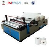 Machine de papier toilette à rembobinage semi-automatique Sp