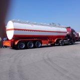 Kraftstoff-Tanker-halb Schlussteil des Fach-28000L 9 mit Öl-und Gas-Wiederanlauf-System
