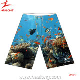 Healong dernière conception Sportswear Quick-Dry impression en sublimation Beach Shorts