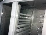 Padaria em aço inoxidável verticais frigorífico congelador com Compressor Embraco