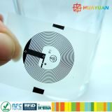escritura de la etiqueta evidente del pisón NFC de 13.56MHz NTAG213 para la protección de la marca de fábrica