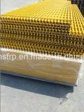 Antislip Pultrusion FRP Grating met Gegroefte Oppervlakte