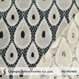 Textil hogar de encaje de algodón tejido Cortina (M3466)