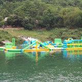 Großer Gleitbetrieb spielt aufblasbares Waterpark (WG-0156)