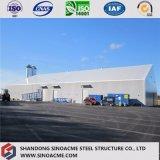 ISOによって証明される鉄骨構造の企業の工場は貯蔵する