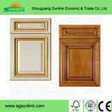 使用されたシンプルな設計の食器棚の木製のドア(GSP5-009)