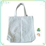 Sacchetto 100% di Tote della tela di canapa del sacchetto della maniglia del cotone