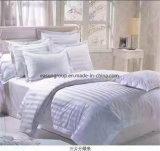 Hôpital de 100 % coton drap de lit Poids 300TC de couleur blanche