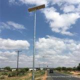 60W Esavior tous dans une rue solaire Lampe LED intégrée Outdoor Rue lumière solaire avec détecteur de mouvement