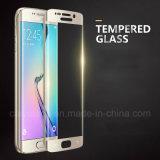 Film mobile de téléphone d'écran en verre Tempered d'accessoires pour le protecteur d'écran de bord de Samsung S6/S7