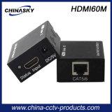 Cat5e/6 (HDMI60M)에 60m CCTV 시스템 영상 증량제