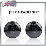 """7 """" H4プラグH4-H13のアダプターとのジープのラングラーJk - Tj Harley Davidsonのための45W 5500lm Hi/Loのビームが付いているLEDのヘッドライト"""