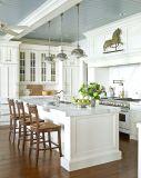Disegno bianco moderno della cucina della quercia rossa