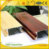 Chine Aluminium Factory en bois Print Aluminium Frame for Sliding Window