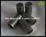 Filtro/filtro perfurados do engranzamento de fio do aço inoxidável do engranzamento