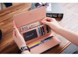 Nieuwe Dame Long Wallet Card Buckle Koreaanse Grote Capaciteit met de MultiLevering voor doorverkoop van de Fabriek van het Pakket Ob