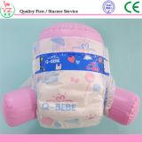 Pañal disponible cómodo al por mayor del bebé con el material suave estupendo del algodón