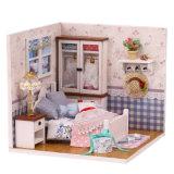 La vente en gros joue la Chambre de poupée en bois de jouet de bébé bon marché