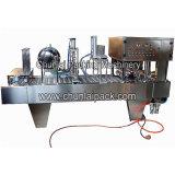 Máquina de enchimento da selagem do copo de alumínio automático