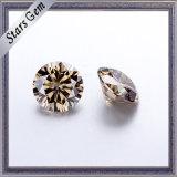 절단 유효한 Champagne 색깔 Moissanite 다이아몬드를 주문을 받아서 만드십시오