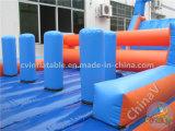 Carrera de obstáculos inflable caliente para la venta