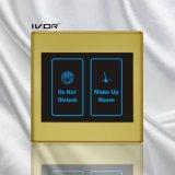 El panel de interior del sistema del timbre del hotel en el marco plástico del esquema (SK-dB2300SIN2)