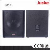 "S118 altavoz vendedor superior del audio del profesional 650W 18 "" Subwoofer"