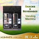 Máquina expendedora combinada para la barra de las palomitas y de chocolate