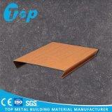 Techo de la tira de madera para la decoración del techo de la alameda de compras