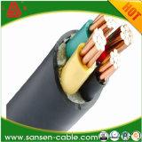 Yjv 0.6/1kv XLPE Crosslinked оскорбленные полиэтиленом медные силовые кабели проводника