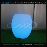 RGB LED Light Outdoor Bar Furniture com material LLDPE