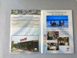 Cartão do LCD para anunciar com tampa do cartão de papel de Matt