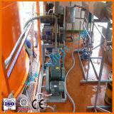 Pianta nera di tecnologia di distillazione dell'olio residuo, strumentazione di rigenerazione dell'olio