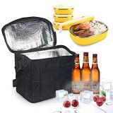 Grand sac fourre-tout transport isotherme déjeuner boîte de refroidisseur