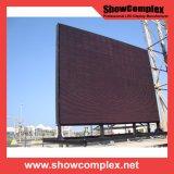 풀 컬러 P10 옥외 임대료 발광 다이오드 표시 스크린